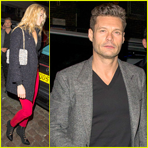 Ryan Seacrest & Girlfriend Shayna Taylor Step Out in London for Romantic Double Date!