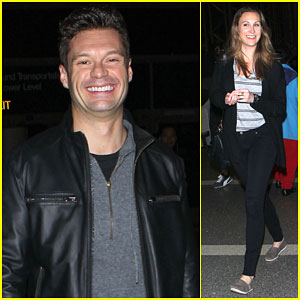 Ryan Seacrest Catches a Flight with His Sister After His Break Up