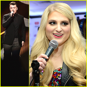 Meghan Trainor & Sam Smith Bring Christmas To Q102's Jingle Ball in Philly