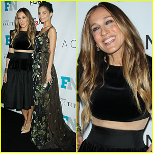 Fashionistas Sarah Jessica Parker & Nicole Richie Receive Big Honors at the Footwear Awards!