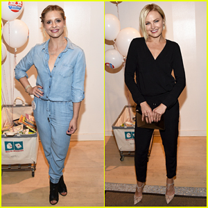 Sarah Michelle Gellar & Malin Akerman Get Their Charity On at Splendid Holiday Book Drive Kick-Off!