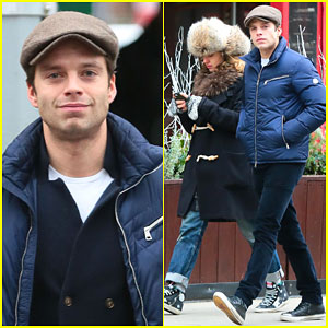 Sebastian Stan & Margarita Levieva Spend Some Time Together in the Big Apple