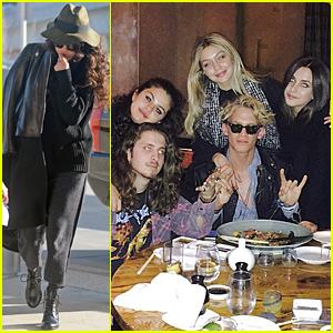 Selena Gomez Has Dinner with Her 'NY Fam' Gigi Hadid & Cody Simpson!