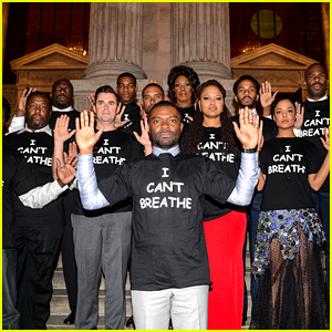 'Selma' Cast Wears 'I Can't Breathe' Shirts at NYC Premiere
