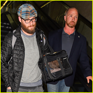 Seth Rogen Travels with New Bodyguard Amid Hackers' Threats