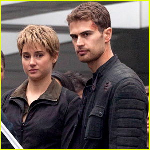 Shailene Woodley & Theo James Get Ready to Wrap 'Insurgent'