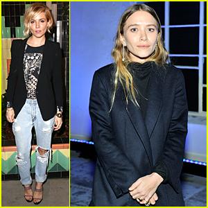 Sienna Miller & Mary-Kate Olsen Are Blonde Bombshells Helping Our Vets