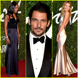 There Were So Many Hot Models at the British Fashion Awards!