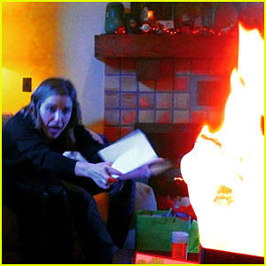 Sophia Bush Freaks Out During a Christmas Fire at Her House