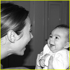Stacy Keibler Shares First Photo of Her Baby Girl Ava!