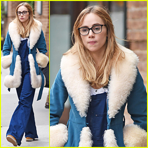 Suki Waterhouse Steps Out After Supporting Boyfriend Bradley Cooper on Broadway!