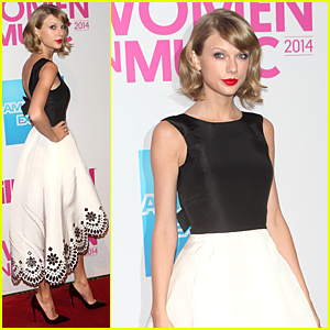 Taylor Swift is Dressed as a Daydream at Billboard Women in Music Luncheon