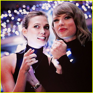 Taylor Swift Did NOT Kiss Karlie Kloss, Her Rep Confirms