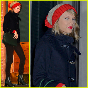Taylor Swift Heads to Times Square on New Year's Eve (Photos)