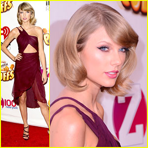 Taylor Swift Gets Ready for Her 25th Birthday By Hitting Up NYC's Jingle Ball