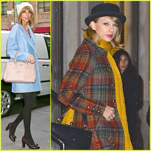 Taylor Swift & Kendall Jenner Help Gigi Hadid With Christmas Decorations - Watch Now!