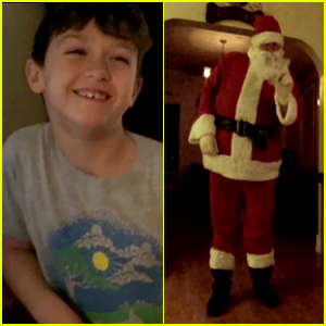 This 'Santa Claus Caught on Camera' Video Will Warm Your Heart