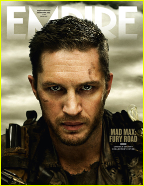 Tom Hardy Looks Beyond Tough & Sexy on 'Empire' February 2015 Cover