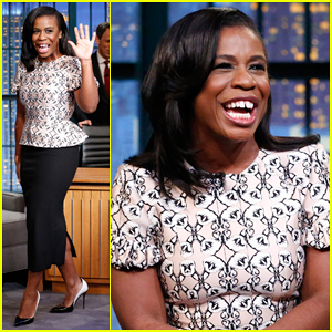 Uzo Aduba Reveals How She Found Out About Her Golden Globe Nomination on 'Late Night with Seth Meyers' - Watch Here!
