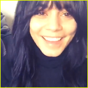 Vanessa Hudgens Wants You To 'Dream Big & Set Goals' For 2015 (Video)