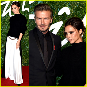 Victoria & David Beckham Are Picture Perfect at British Fashion Awards 2014!