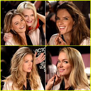 Victoria's Secret Angels Prepare for the 2014 Fashion Show - See the Photos!