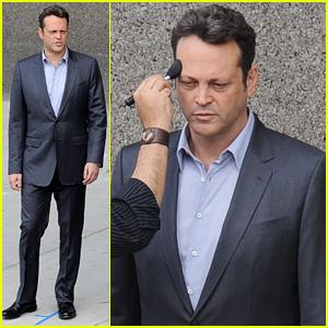 Vince Vaughn Suits Up to Start 'True Detective' Filming
