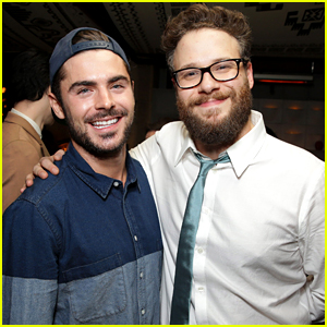 Zac Efron Supports Buddy Seth Rogen at 'Interview' Premiere!
