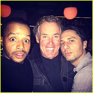 Zach Braff, Donald Faison, & John C. McGinley Make Us Feel Good With 'Scrubs' Reunion