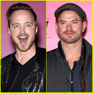 Aaron Paul & Kellan Lutz Ring in Super Bowl with ESPN!