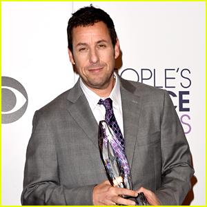 Adam Sandler Wins His Ninth People's Choice Award!