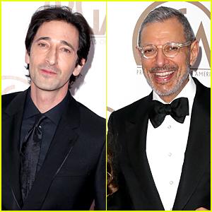 Adrien Brody & Jeff Goldblum Represent 'Grand Budapest Hotel' at PGA Awards 2015