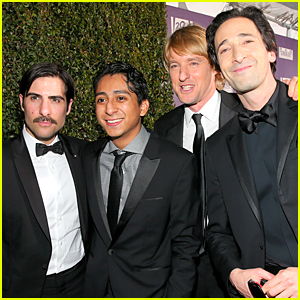 Adrien Brody & Owen Wilson Celebrate 'Grand Budapest' Win at Fox Golden Globes Party 2015