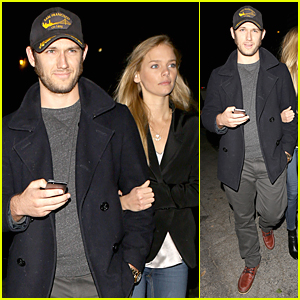 Alex Pettyfer & Marloes Horst Are Still Going Strong as a Couple