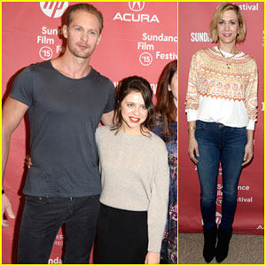Alexander Skarsgard's 'Diary of a Teenage Girl' Co-Star Scared Her Sister & She Shattered Her Foot