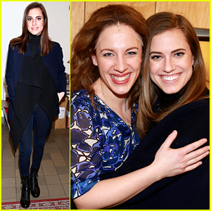 Allison Williams Is Feeling 'Beautiful' for Her Broadway Visit