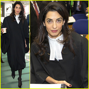Amal Clooney Takes On Turkish Genocide-Denier at European Court of Human Rights in Strasbourg!