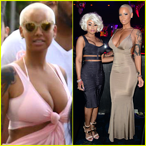 Amber Rose Says Family Skipped Her Wedding to Wiz Khalifa Because He's African-American