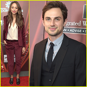 Newlyweds Amber Stevens & Andrew J. West Couple Up For Palm Springs Film Festival
