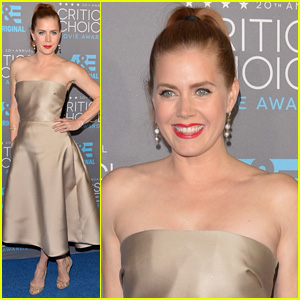 Amy Adams Shimmers & Shines at Critics' Choice Awards 2015