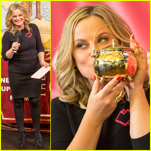 Amy Poehler Gets Epic Homecoming As Hasty Pudding's Woman of the Year 2015!