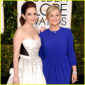 Tina Fey & Amy Poehler Get Ready for Hosting Duties at the Golden Globes 2015!
