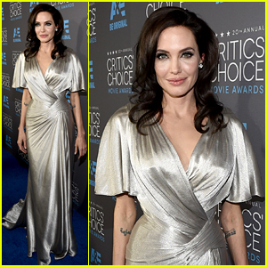 Angelina Jolie Is the Shining Star at Critics' Choice Awards 2015