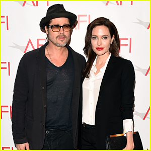 Angelina Jolie Honors 'Unbroken' at AFI Awards with Brad Pitt!