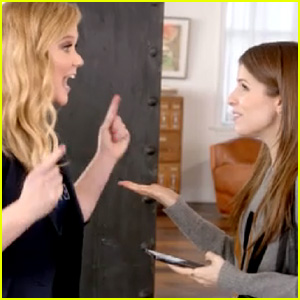 Amy Schumer Freaks Out Anna Kendrick in First Promo for MTV Movie Awards 2015 - Watch Now!