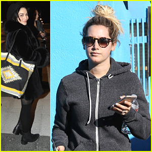 Ashley Tisdale Sends 'Break A Leg' Message To Vanessa Hudgens Before 'Gigi' Opening Night