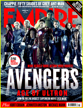 The Avengers Assemble for 'Age of Ultron' Covers for 'Empire'!