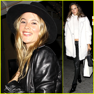 Behati Prinsloo & Alessandra Ambrosio Party with Lily Aldridge's Hubby Caleb Followill For His Birthday!