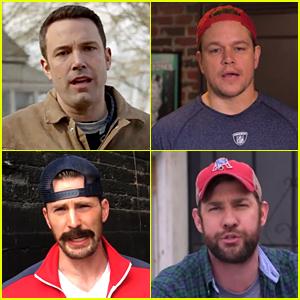 Ben Affleck & Matt Damon Take Responsibility for Deflate-Gate!
