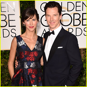 Benedict Cumberbatch Brings His Pregnant Fiancee Sophie Hunter to the Golden Globes 2015!